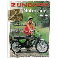 Zündapp Motorräder 1921-84 Roller Moped Mokick Kleinkraftrad Modelle Typen Buch