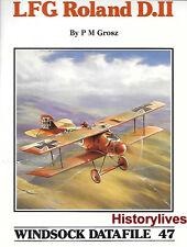 Windsock Datafile No.47 LFG Roland D.II History 1/72 1/48 Drawings Markings