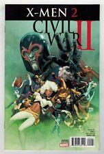 CIVIL WAR II: X-MEN #2 - VICTOR IBANEZ VARIANT COVER - MARVEL COMICS - 2016