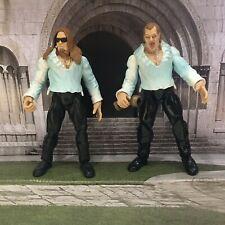 WWE WWF  Jakks Titan Tron Live The Brood Christian Gangrel WRESTLING FIGURES