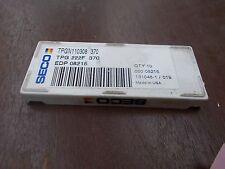 Seco TPG 222F 370 TPGN110308 370 Carbide Insert Grade 370 Box of 10pcs