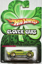 HOT WHEELS 2009 OPENING HOOD CLOVER CARS '70 CAMARO RS
