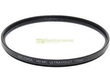 77mm. filtro UV HD MC Bilora. Ultraviolet filter.