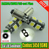 2x 9 SMD LED 433 434 BAX9S H6W OFFSET PINS CANBUS NO ERROR FREE SIDE LIGHT BULBS