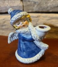 New ListingVintage Goebel Hummel Angel Blue Coat Candle Holder West Germany 42009-09