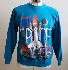 Vintage 1990 NASA Kennedy Space Center Station Crewneck Sweatshirt Men's Large L