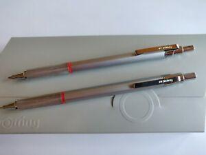 Rotring Rapid Pro, Silber, Kugelschreiber und Bleistift, Neu