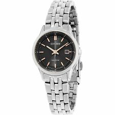 Citizen EW2400-58H Women's Sapphire Gray Eco-Drive Watch