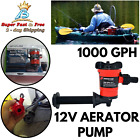 Submersible Boat Aerator Cartridge Bilge Air Pump For Livewell Live Bait Tank photo