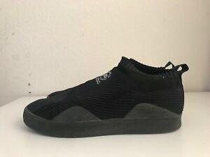 Adidas 3ST-002 Primeknit Skateboarding Shoes | Triple Black | Men's Size 11