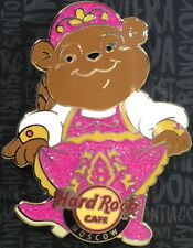 Hard Rock Cafe MOSCOW 2016 Dancing Teddy Bear in Pink Dress PIN 300 - HRC #89975