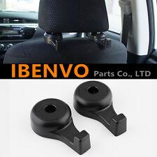 New Universal Car Black Back Seat Headrest Hanger Holder Hook Bag Purse Cloth
