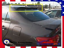 For 2009-2013 Toyota Corolla ABS Black Rear Roof Window Visor Spoiler 3D JDM USA