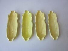 Set of 4 California Pottery Corn on the Cob Dishes
