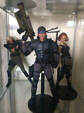 "Solid Snake Custom 1:6 Metal Gear Solid Figure MGS 12"" Amnur Hot Toys Head"