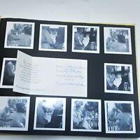 Catherine's Vintage 1951 Baby Album Baby Pictures Scrap Book Announcements MOD