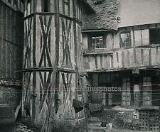 EVREUX c. 1940 - Vieille Maison Eure Normandie - DIV1631