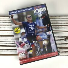2001 Tour De France / World Cycling Productions / 10 Hour DVD / Lance Armstrong