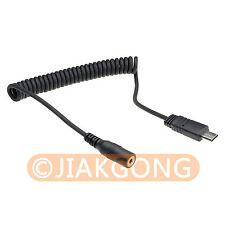 E3F-S2M Remote Connect Cable for Sony A7 A7R NEX-3NL A6000 A58 HX300 RX100N