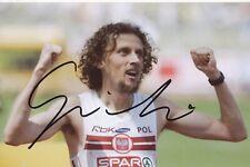 Pawel ?  Polen  Leichtathletik Foto original signiert 394640