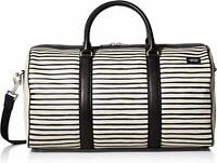 Jack Spade, Men's Striped Duffle Bag, Industrial Canvas, Weekender