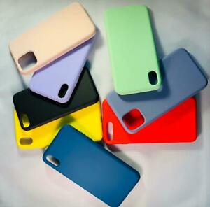 Silicone Shockproof Soft Cover for iPhone 11pro Xmax 7 /8Plus X/XS XR 11 PRO MAX
