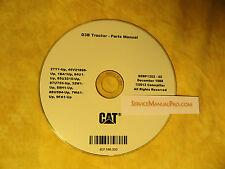SEBP1252 New CAT Caterpillar D3 Tractor Dozer Parts Manual Book CD