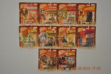 Johnny Lightning Marvel Comics Diecasts