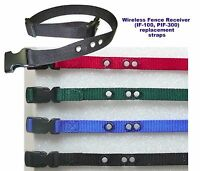 PETSAFE PIF-300 COMPATIBLE 3/4 inch replacement collar strap- all colors