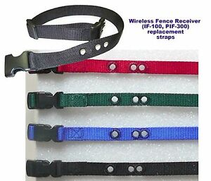 PIF-300 1 inch  replacement collar strap- all colors
