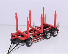1:87 EM3370 3x Rungen ROT f. Holz Anhänger/LKW Herpa Kibri f Umbau Eigenbau NEU