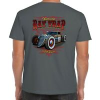 Men's Hot rod 58 Clothing T Shirt RAT TRAP Vintage Retro Classic Rockabilly 114