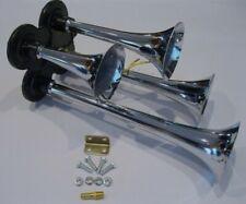Quad Trumpet Air Horn Kit Train Semi Truck Boat RV LOUD 150 db 4 Horns Kit
