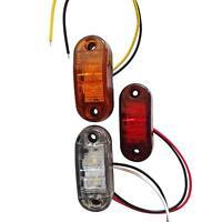 12/24v LED Side Marker Light Truck Car Trailers Lorry Van Indicator Lamp