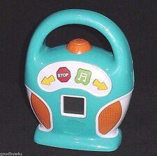 Discovery Kids Digital MP3 Portable Music Player Boombox SD Card Slot USB NICE!