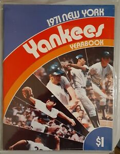 Baseball Yearbook New York Yankees 1971