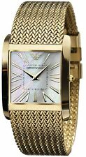 Designer Emporio Armani AR2016 Classic gold Dial Stainless Steel watch For Men