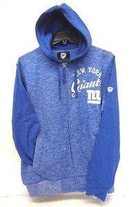 New York Giants Men's L G-III Dynasty Full Zip Hoody Sweater 816