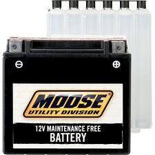 Moose Utility YTX14-BS Heavy Duty 12V Quad Bike ATV Battery