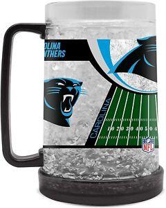 Carolina Panthers 16 oz NFL Duck House Crystal Freezer Mug - New