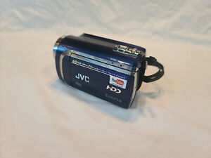 JVC Everio GZ-MG630AU Blue (working) Video Camcorder w/ Power Supply