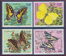 ALGERIE N°740/743** Faune, papillons, 1981 Algeria Butterflies Sc# 668-671MNH