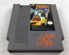 Nintendo (NES) Back to the Future AVGN James Rolfe Orange Autograph Cart