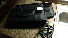 Cherokee Tote Handbag Purse w Cosmetic Case  Glass case cell phone Black