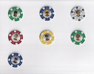 2009 Main Event POKER CHIPS PICK LOT-YOU Pick any 2 of 6 Poker Chips for $1!
