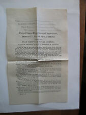 U.S. Dept Ag. list of publications about Farming for that time period Aug. 1923*