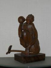 Statue art africain