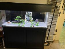 Aquarium Fish Tank 75 Gallon Fresh/salt Water Reef Tank with Stand And Canopy