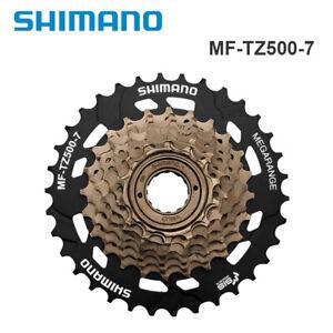 Shimano Tourney MF-TZ500-7 Speed MTB Bike Bicycle Freewheel Screw-On 14-34T TZ31
