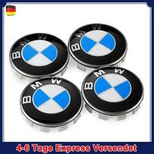 4X 68MM BMW Nabendeckel Radnaben Nabenkappen Radkappe 1 3 5 6 7 Series E F M X Z
